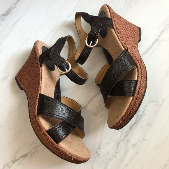 BOC Wedge Sandals Heels Boho Summer Festival